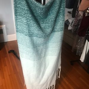 Sweater wrap/blanket